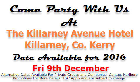 Marlboro Promotions Christmas Party Kerry 2016